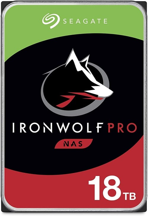 Seagate IronWolf Pro 18TB NAS Internal Hard Drive HDD