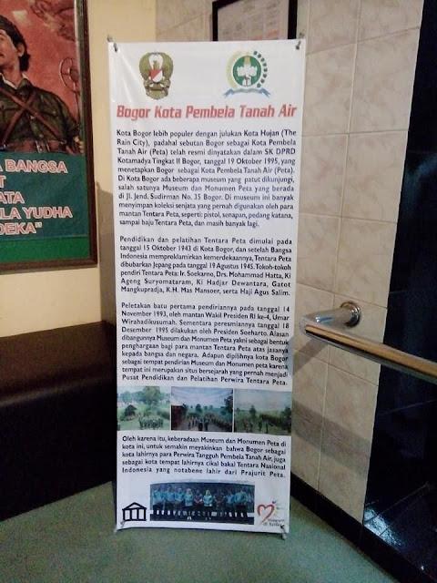 Museum PETA, Bogor, Kota Bogor, Museum di bogor, bogor kota hujan, bogor kota pembela tanah air, travel blogger,