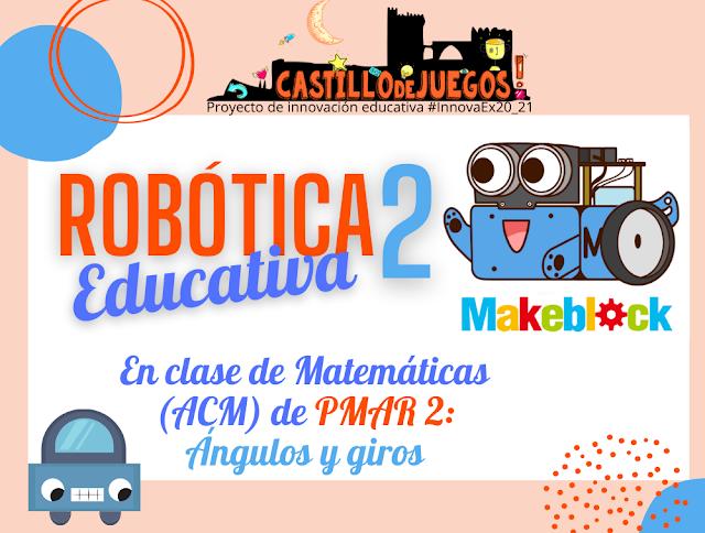 Robótica educativa en PMAR2: ángulos y giros