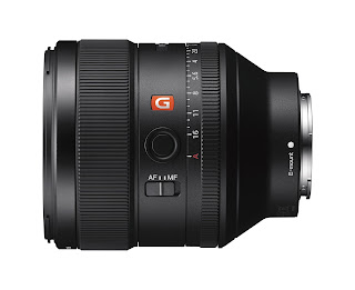 FE 85mm F1.4 GM Telephoto Prime Lens model SEL85F14GM