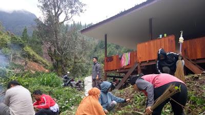 Manjakan Pendaki, Dispopar Enrekang Siapkan Villa Emas Di Desa Latimojong
