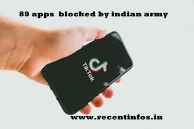 Indian army ask Soldeirs to Delete these 89 apps