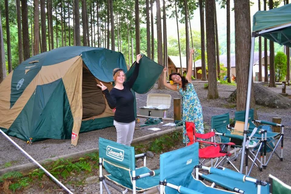 Stephanie In Japan Camping In Mie