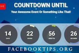 Facebook Timer