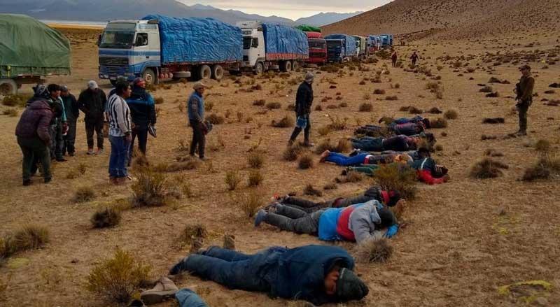 57 bolivianos detenidos en Chile pretendían ingresar a Bolivia con contrabando en 2019 / 24Horas.cl