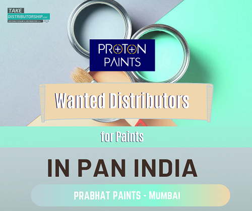 Take Distributorship of Prabhat Paints -  Mumbai