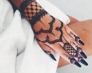 Latest Arabic Mehendi Designs For Hands