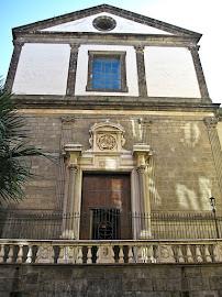 The church of Santa Maria Nova, where Araja was maestro di cappella