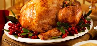 Pavo al horno, Para acción de Gracias y Navidad