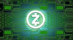 Z cash Cryptocurrency in green Logo