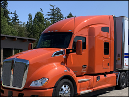 Kenworth T680 with 76-inch sleeper