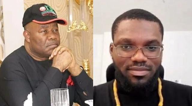 'Please sue o' - David Hundeyin Reacts To Godswill Akpabio's Legal Threats