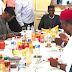 Buhari Meets With APC Governors/ Leaders In London