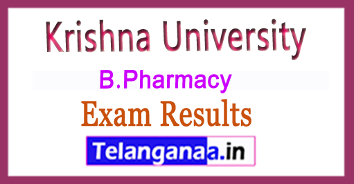 Krishna University KRU B.Pharmacy 2nd Sem 2018 Exam Results