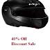 Vega Helmets @ 40%