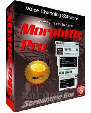 MorphVOX Pro 4.4.36 + Crack โปรแกรมปลอมแปลงเสียงพูดไมโครโฟน