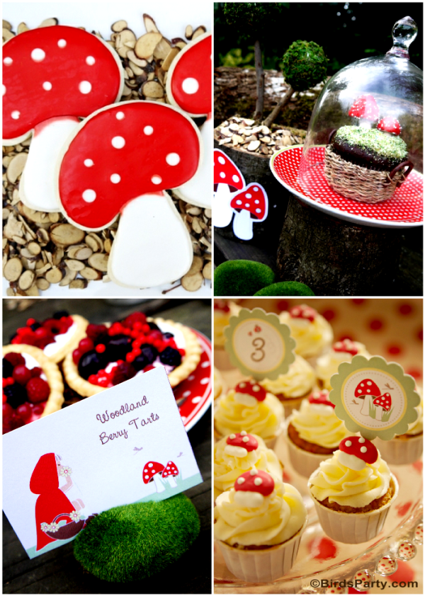 Little Red Riding Hood Birthday Party Ideas and Printables - BirdsParty.com