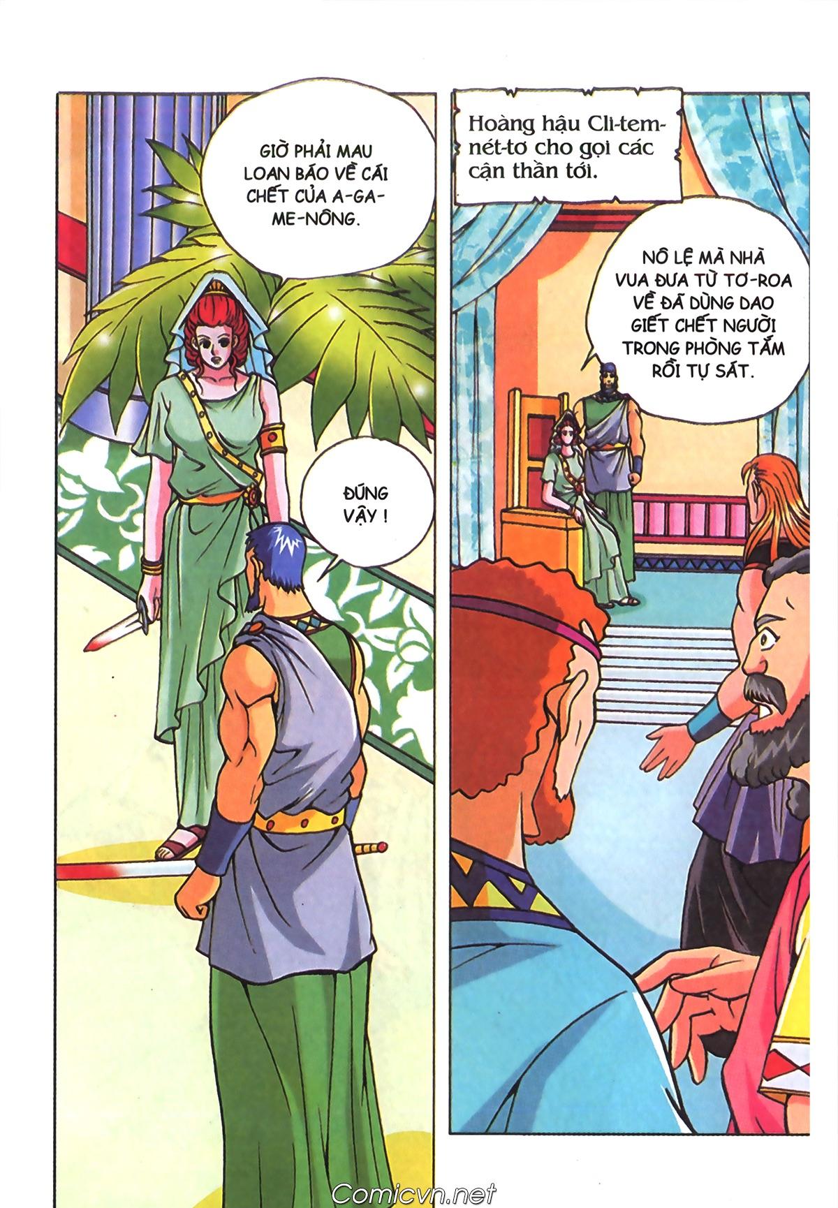 Thần Thoại Hy Lạp Màu - Chapter 70: Nàng Ê lếch tơ - Pic 25