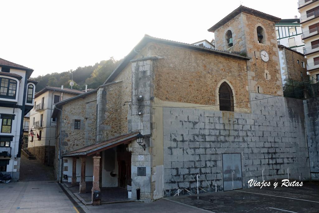 Iglesia de San Nicolás de Bari de Elantxobe, Bizkaia
