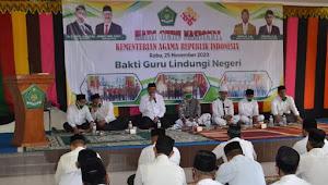 Kemenag Pidie Jaya Gelar Zikir dan Doa Bersama dalam rangka peringatan Hari Guru nasional