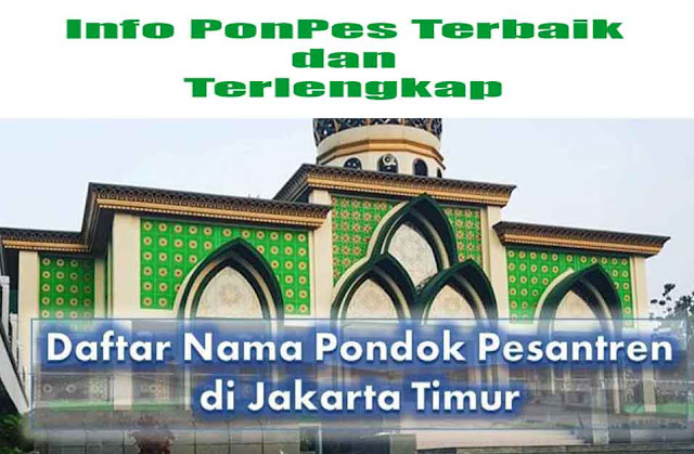 Pesantren di Jakarta Timur