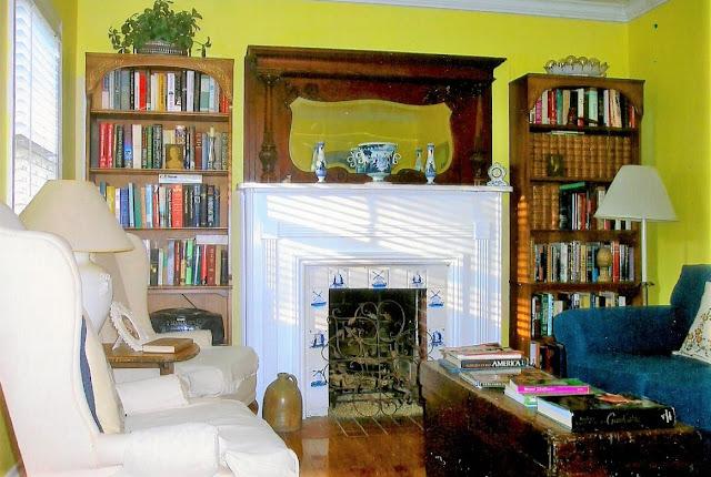 Light through Carol's living room windows. January 2011.
