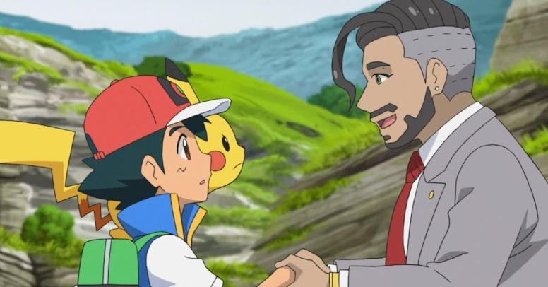 Rose e Ash Anime Pokémon