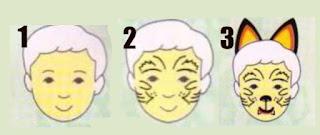 maquillaje infantil de tigre