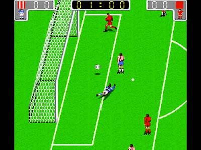 Euro League del 1989: il gioco di calcio arcade con le squadre di club