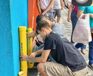 """""""Projeto Integracão"""", instalar kits de bebedouros e comedouros caseiros na área central de Registro-SP"""