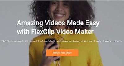 membuat video online - klik buat video gratis