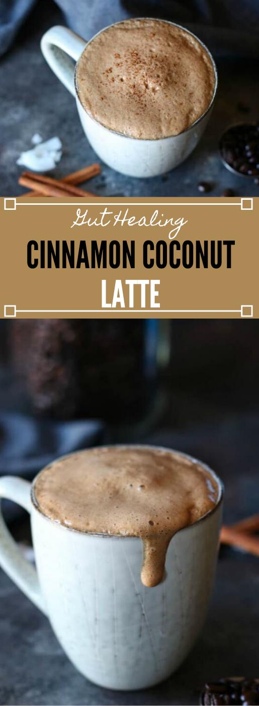 Cinnamon Coconut Latte #drink #latte #coconut #healthy #recipes