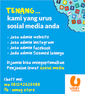 Jasa admin medsos Makassar