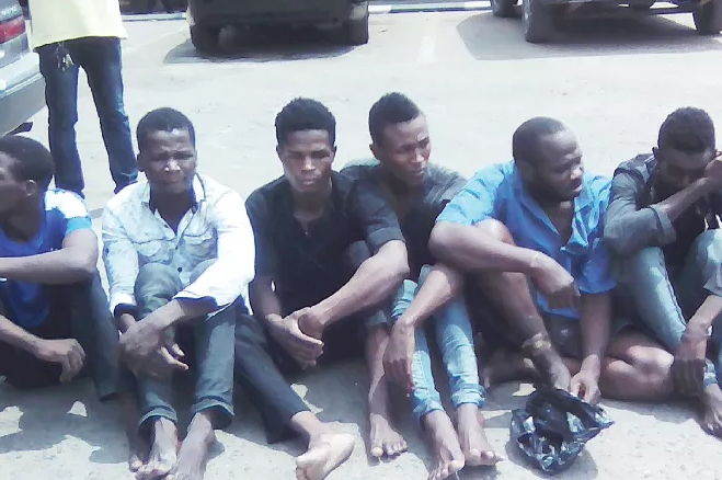NIGERIENS ARRESTED ROBBERY LAGOS