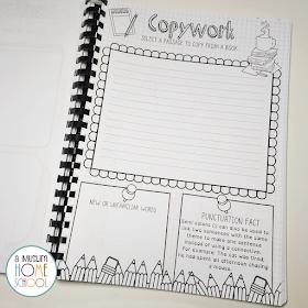 copywork printable for kids