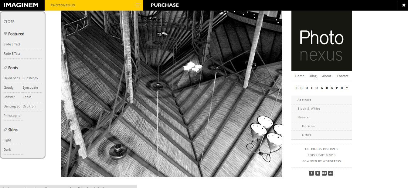 Photo Nexus wordpress-photography-video-theme