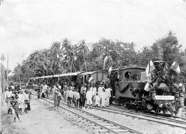 kereta api aceh tempo dulu sepert trans kutaraja