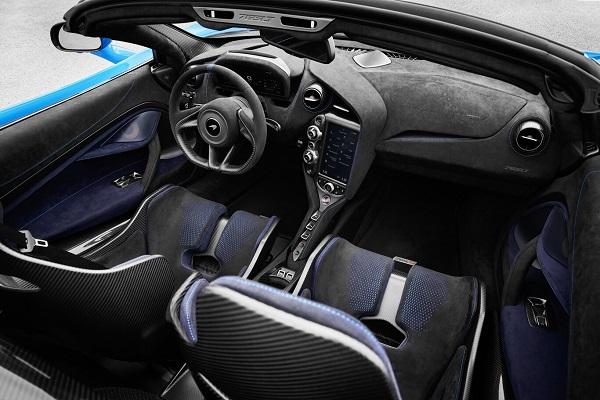 Interior McLaren 765 LT Spider