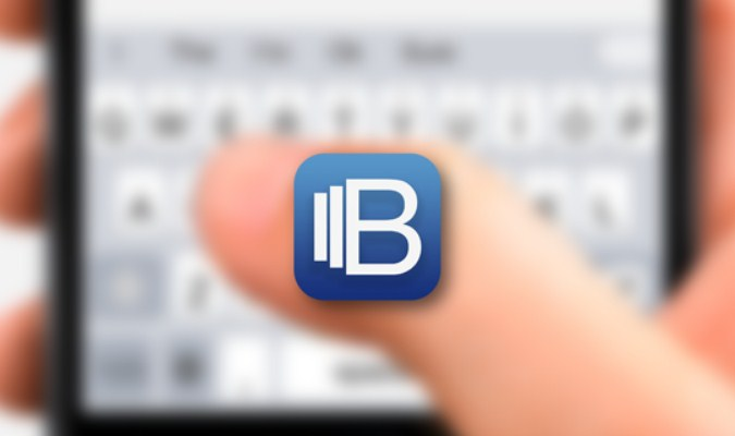 Aplikasi Keyboard Terbaik tuk iPhone - Blink Keyboard