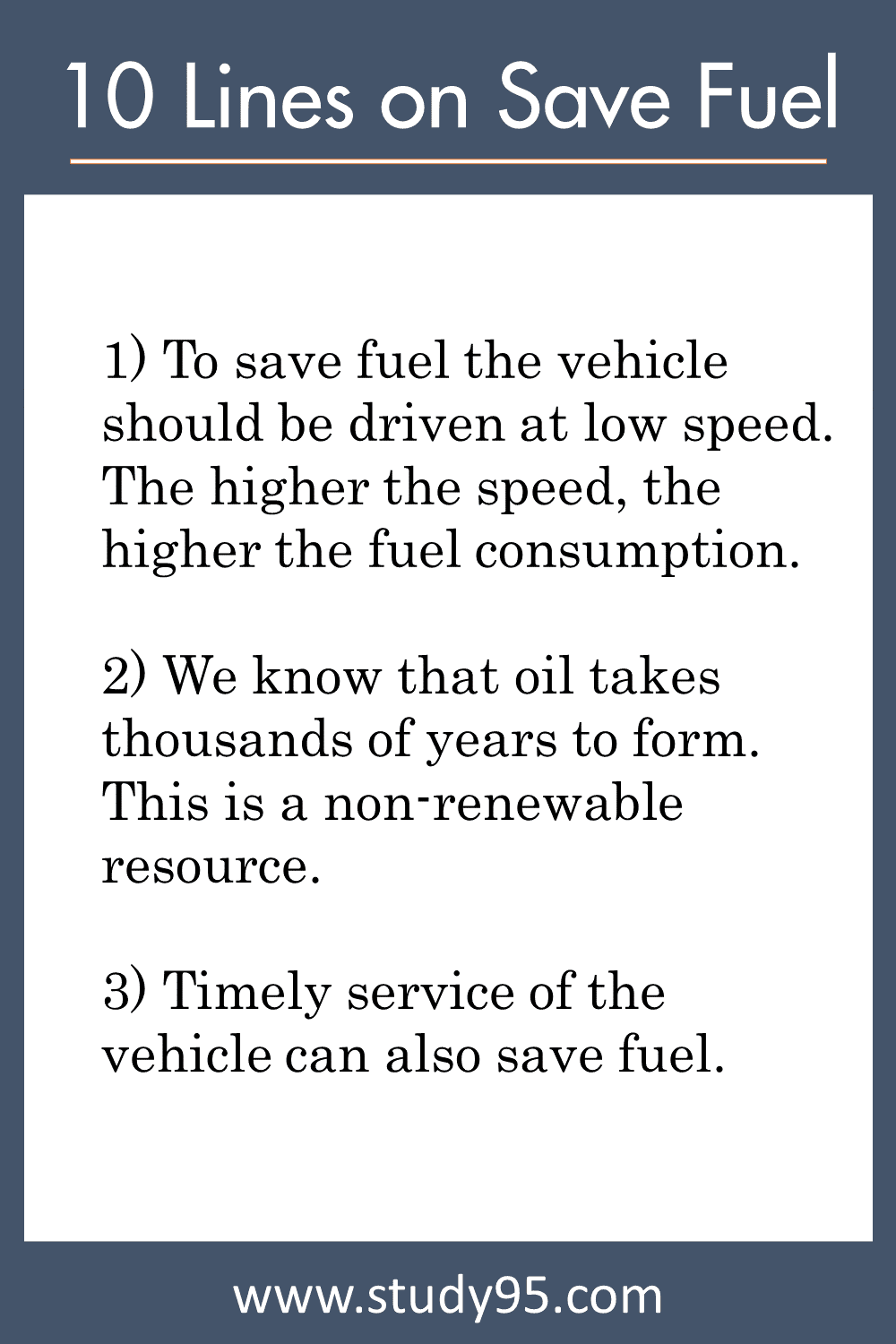 10 Easy Ways to Save Fuel