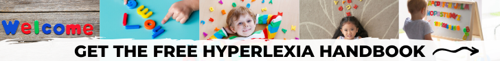 What is hyperlexia? Get the free Hyperlexia Handbook to learn more!
