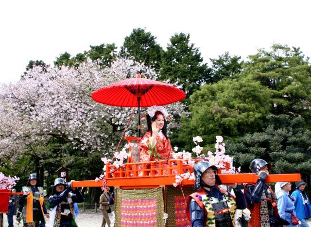 Haruhime Dochu (Spring Queen Parade), Nagoya, Aichi