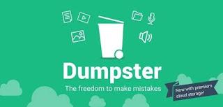 cara mengembalikan video yang terhapus di android menggunakan dumpster