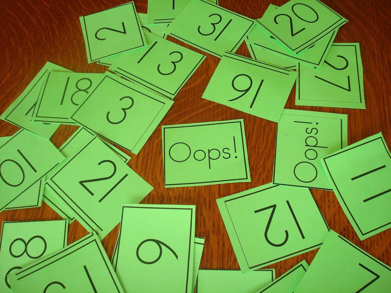Lovenloot Game To Help Kindergartners Identify Numbers 1 30 Oops