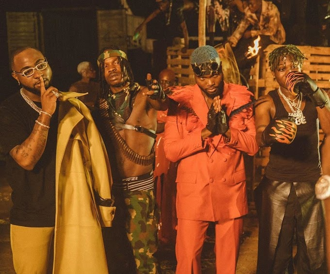 DAVIDO - SWEET IN THE MIDDLE ft. WURLD, NAIRA MARLEY, ZLATAN (OFFICIAL VIDEO) | DOWNLOAD MP3