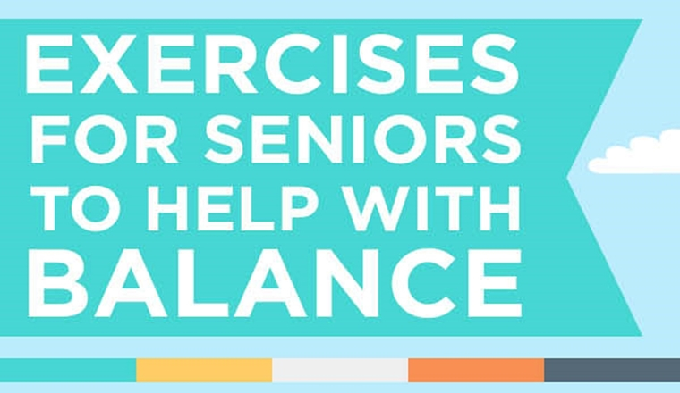 Balance Exercises for Seniors #infographic