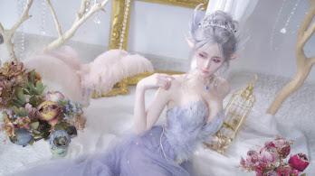 GhostBlade, Beautiful, Fantasy, Elf, Cosplay, Girl, 4K, #6.2633