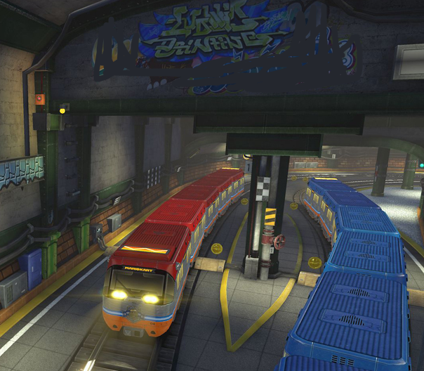 Super Bell Subway Mario Kart 8 DLC course
