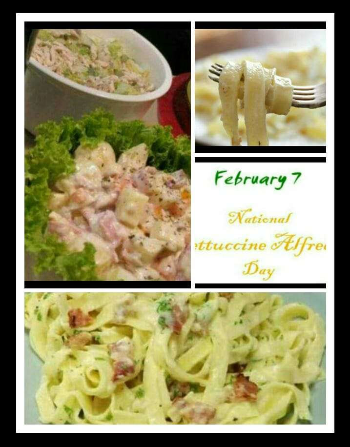National Fettuccine Alfredo Day Wishes Awesome Picture