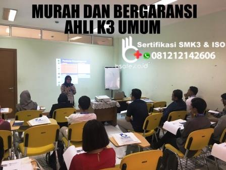 training ahli 3 umum,  tujuan training ahli k3 umum